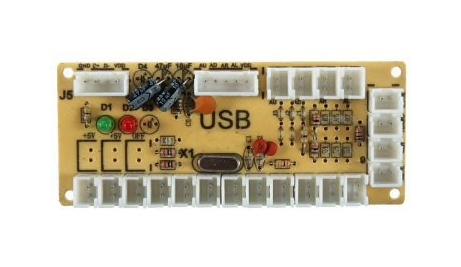 PiArcade: All-in-one Raspberry Pi arcade controller – Make